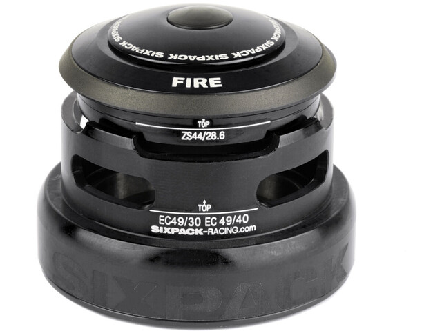 Sixpack Fire 2In1 Headset ZS44/28.6 I EC49/30 and ZS44/28.6 I EC49/40 black